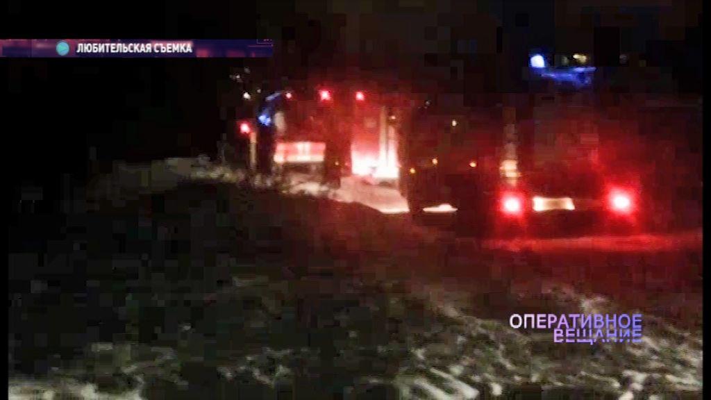 Из-за пожара на Тутаевском шоссе спасатели эвакуировали жителей целого дома