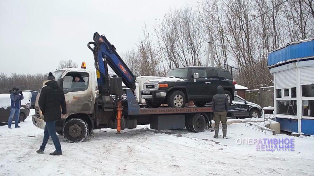 В Москве обнаружен автомобиль, принадлежащий бывшему мэру Рыбинска Юрию Ласточкину