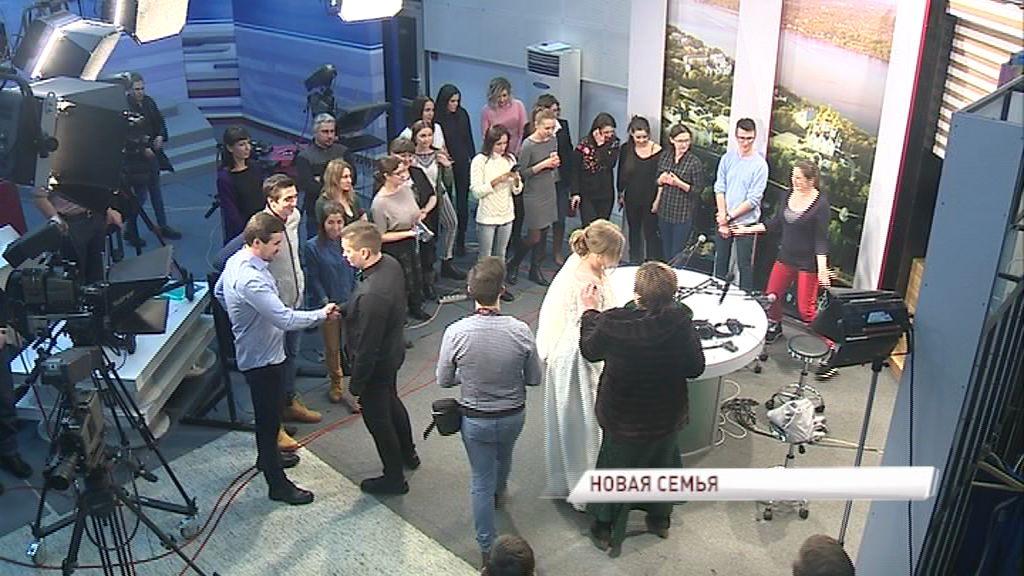 Ведущая утреннего телерадиошоу «Первая студия» Ксения Рулева вышла замуж