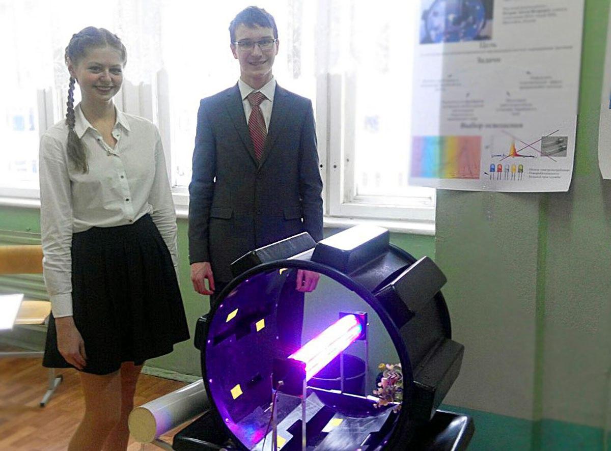 Ярославские школьники изобрели уникальную космическую теплицу