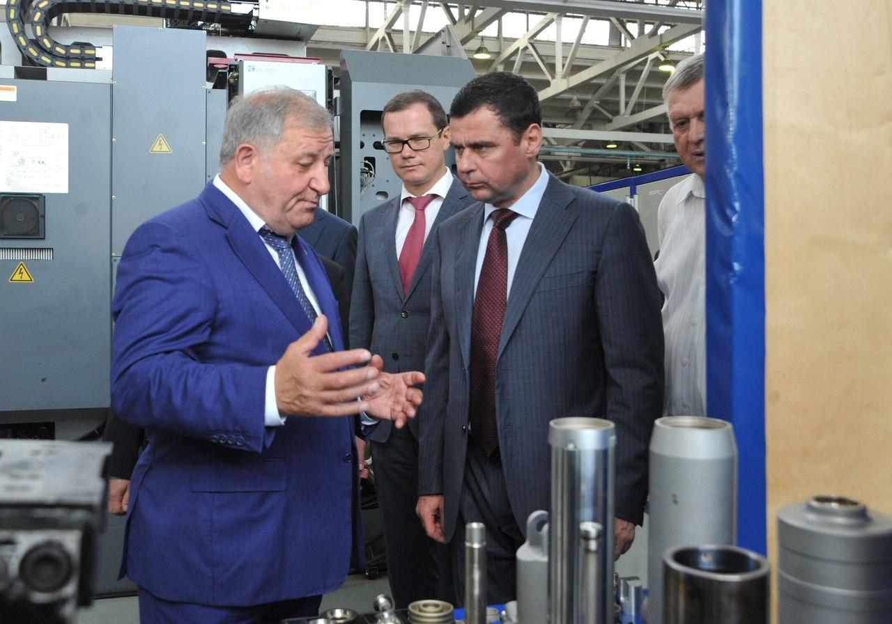 Дмитрий Миронов: «В Гаврилов-Яме будет создана территории опережающего экономического развития»
