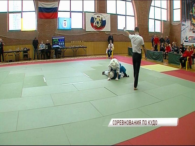В Ярославле состоялся чемпионат ЦФО по кудо среди мужчин и женщин