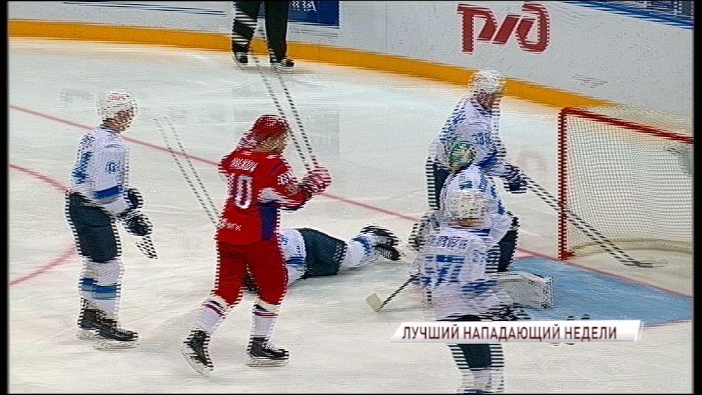 Нападающий «Локомотива» признан лучшим хоккеистом своего амплуа в КХЛ