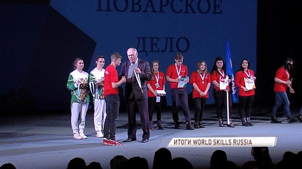 В Ярославле подвели итоги чемпионата молодых профессионалов «World Skills Russia»