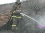 В Данилове при пожаре частного дома погиб 55-летний мужчина