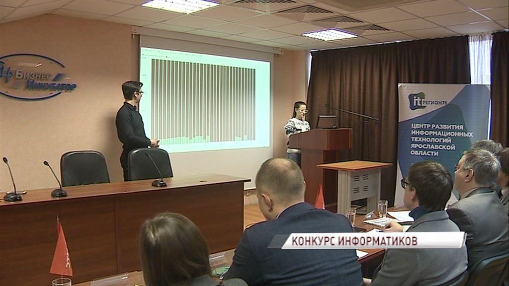 В Ярославском бизнес-инкубаторе состоялся первый региональный конкурс на лучшее приложение и визуализацию