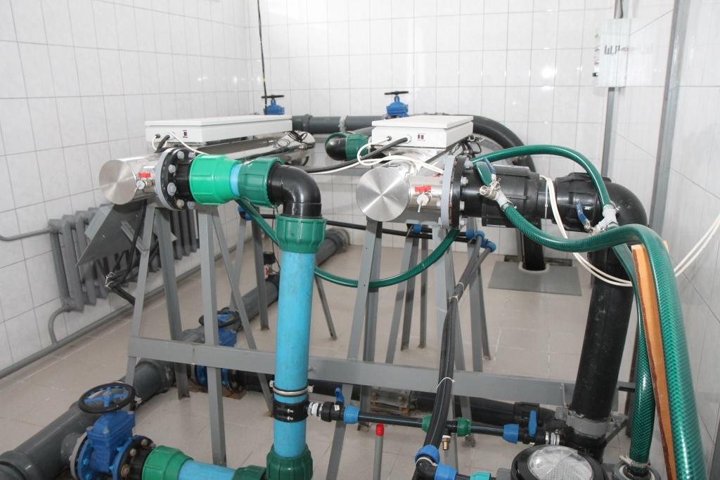Инновационная установка для обезжелезивания воды начала работать в поселке Приволжском Некрасовского района