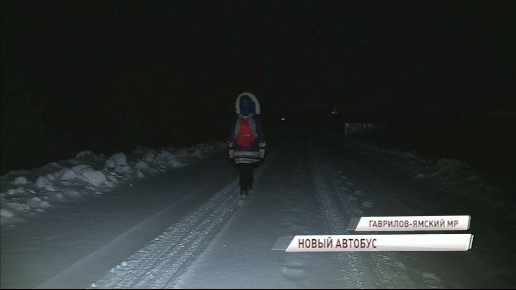Областные власти решили проблему восьмилетней девочки, добирающейся до остановки несколько километров