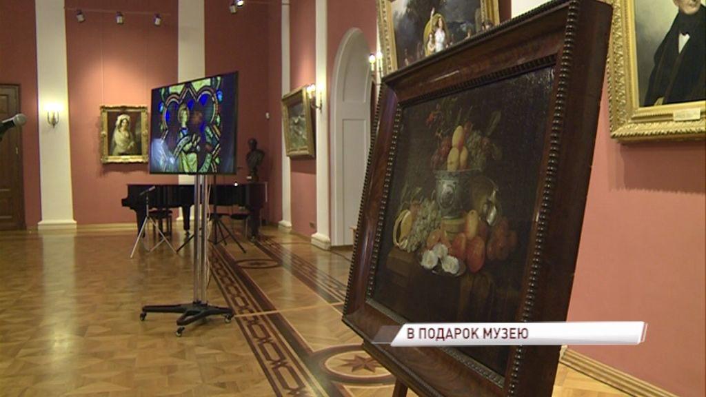 Коллекция Ярославского художественного музея пополнилась уникальным полотном известного художника