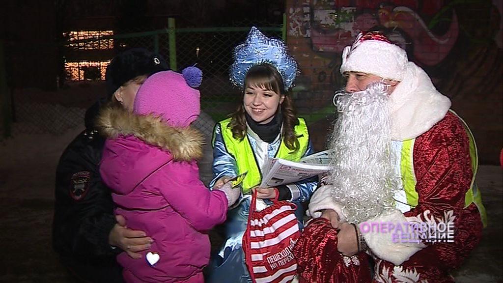 Нарушителей на дороге теперь выявляет Дед Мороз