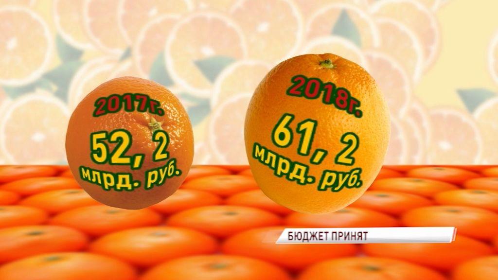 Депутаты облдумы приняли бюджет региона на следующий год: «Первый Ярославский» на примере апельсина объясняет, каким он будет