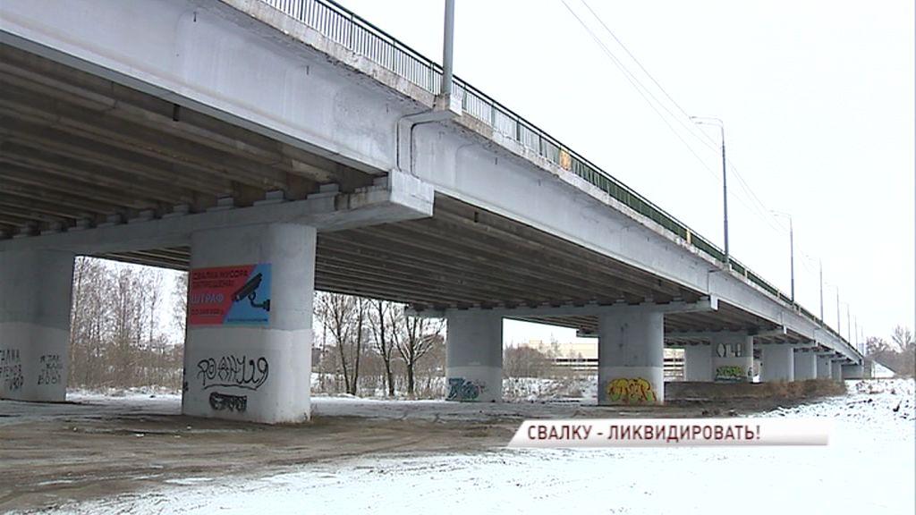 В поле зрения прокуратуры попала несанкционированная свалка в центре Ярославля
