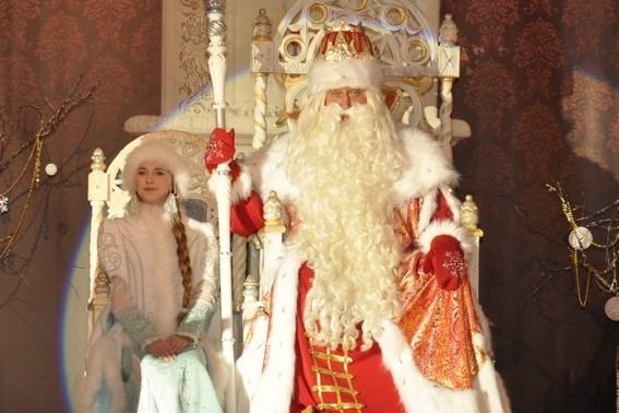 Дед Мороз из Великого Устюга едет в Ярославль