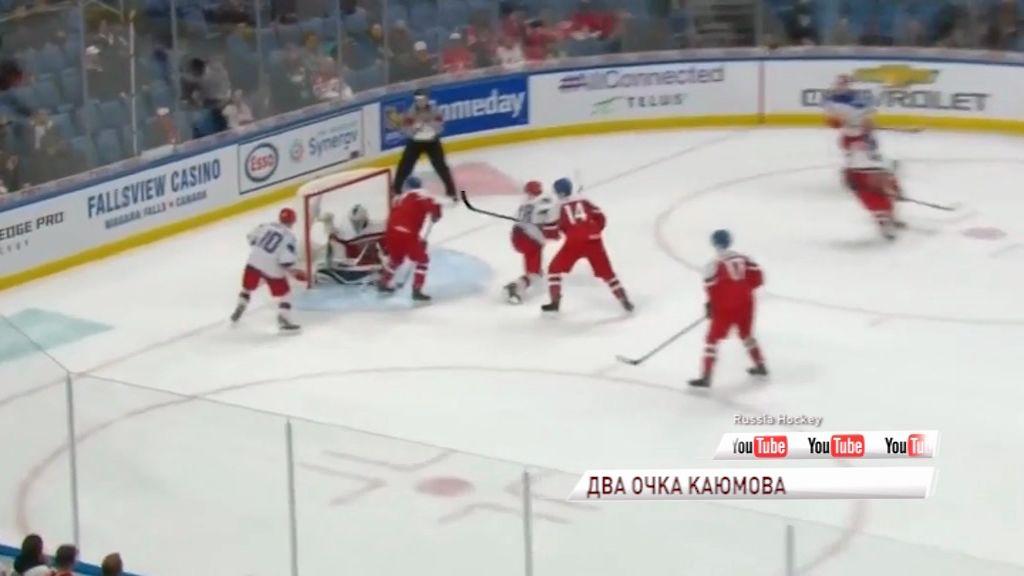 Форвард «Локомотива» набрал первые очки на молодежном чемпионате Мира