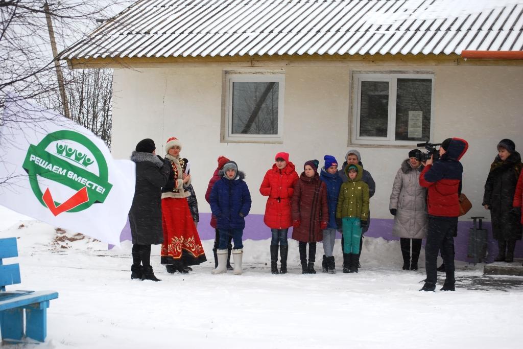 На благоустроенных по проекту «Решаем вместе» площадках прошли детские праздники