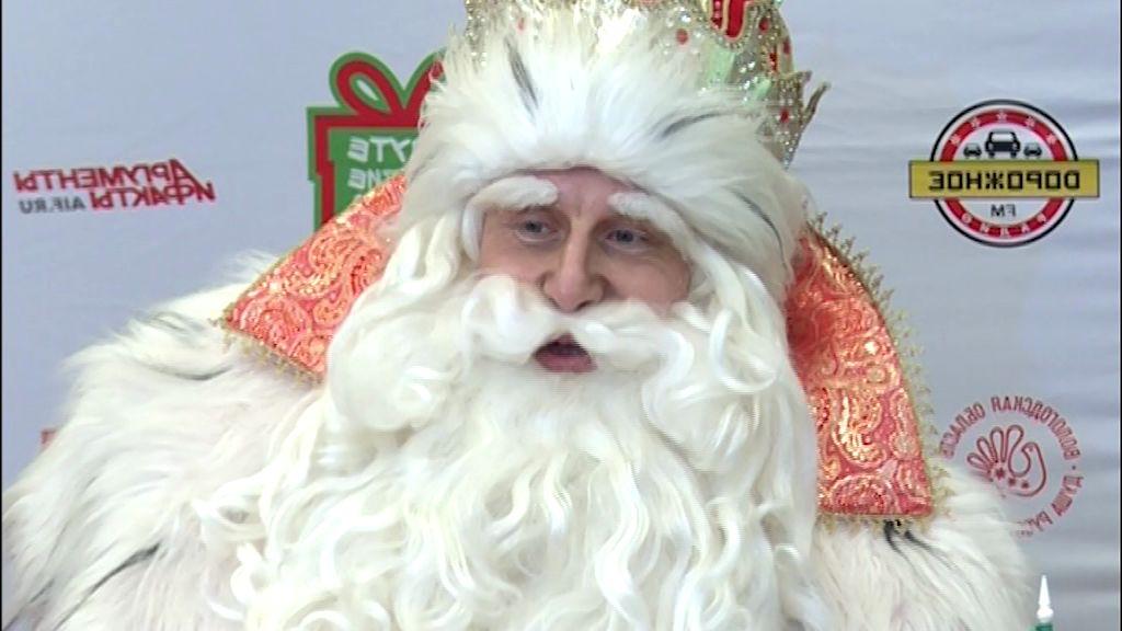 В столицу «Золотого кольца» прибыл Дед Мороз из Великого Устюга