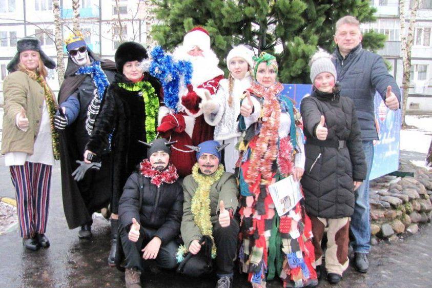 Праздничные мероприятия прошли в благоустроенных дворах Переславля-Залесского