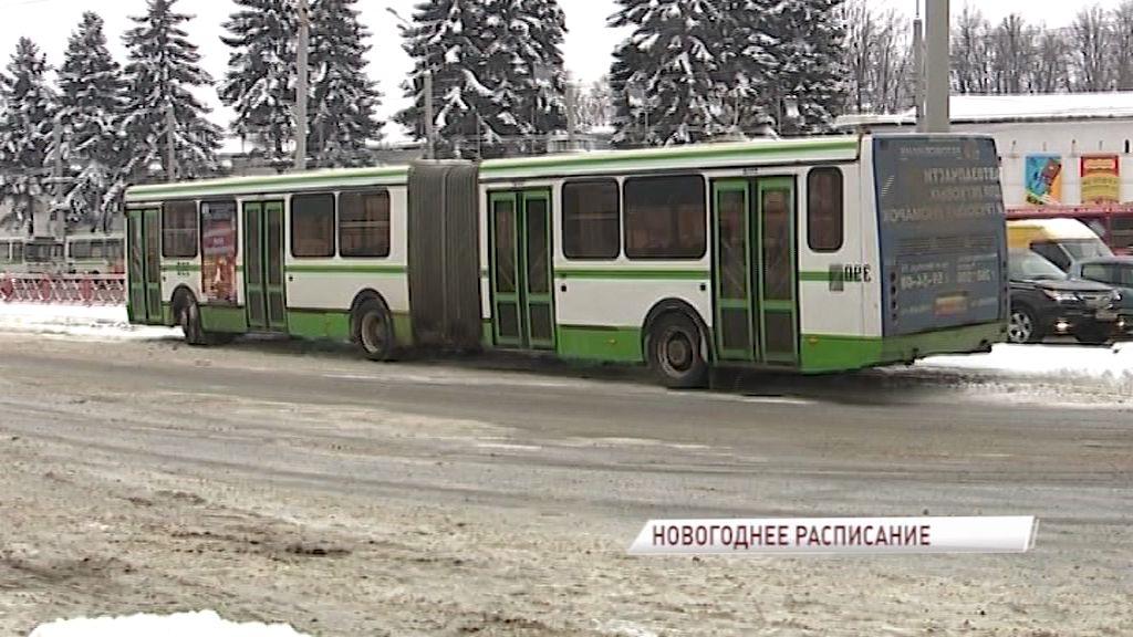 На Рождественские богослужения пустят дополнительный автобус в Ярославле