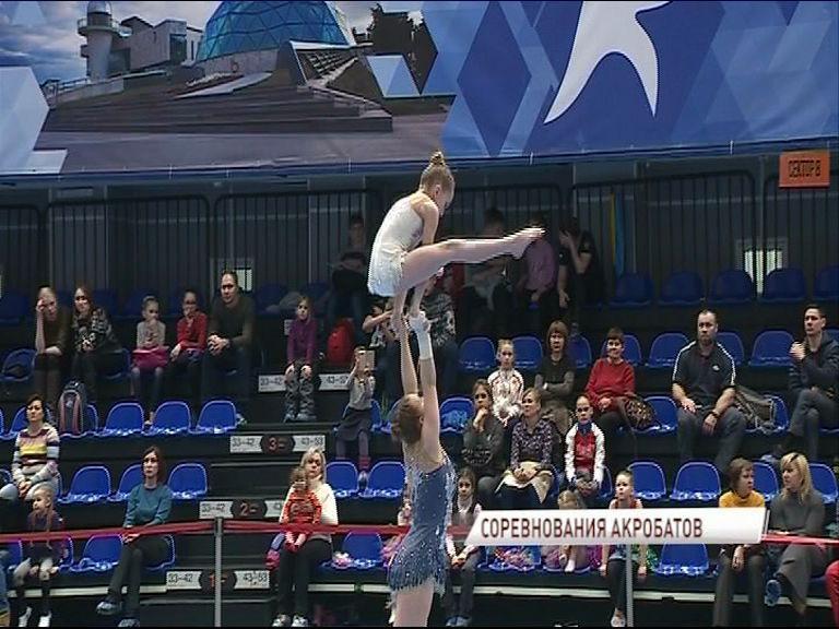 Более 300 спортсменов приехали в Ярославль на соревнование по спортивной акробатике