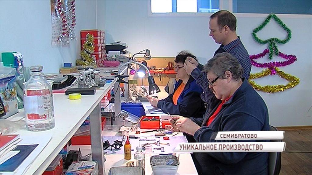 В поселке Семибратово процветает уникальное производство микродвигателей