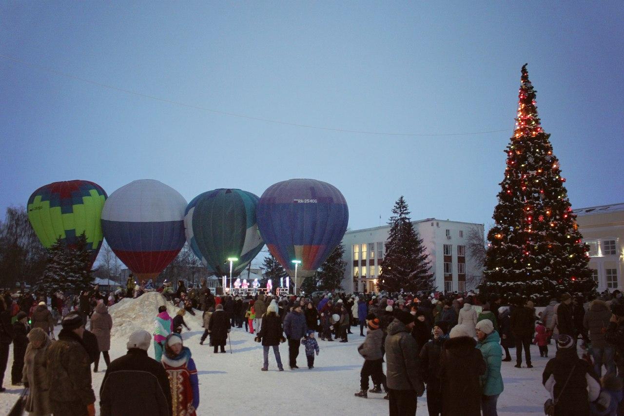 ФОТО: Мне бы в небо: Над Переславлем поднялись воздушные шары