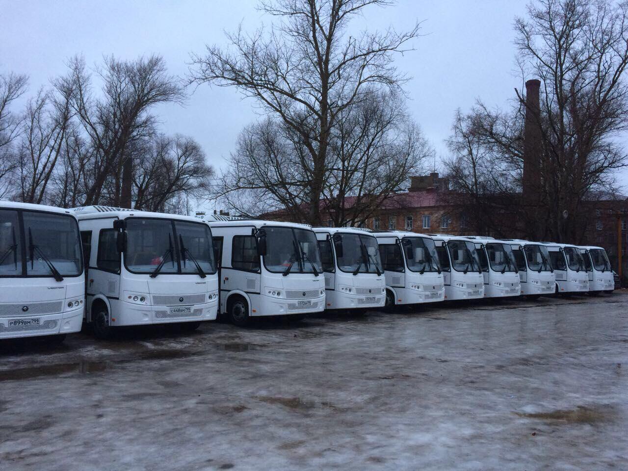 В Переславле-Залесском на городские маршруты вышли 20 новых автобусов
