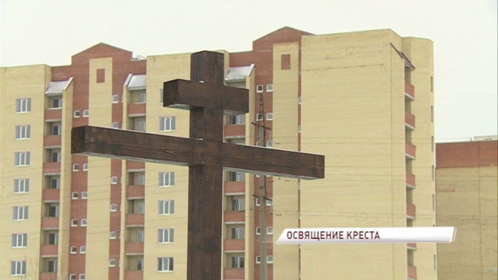 В Брагине воздвигнут новый храм
