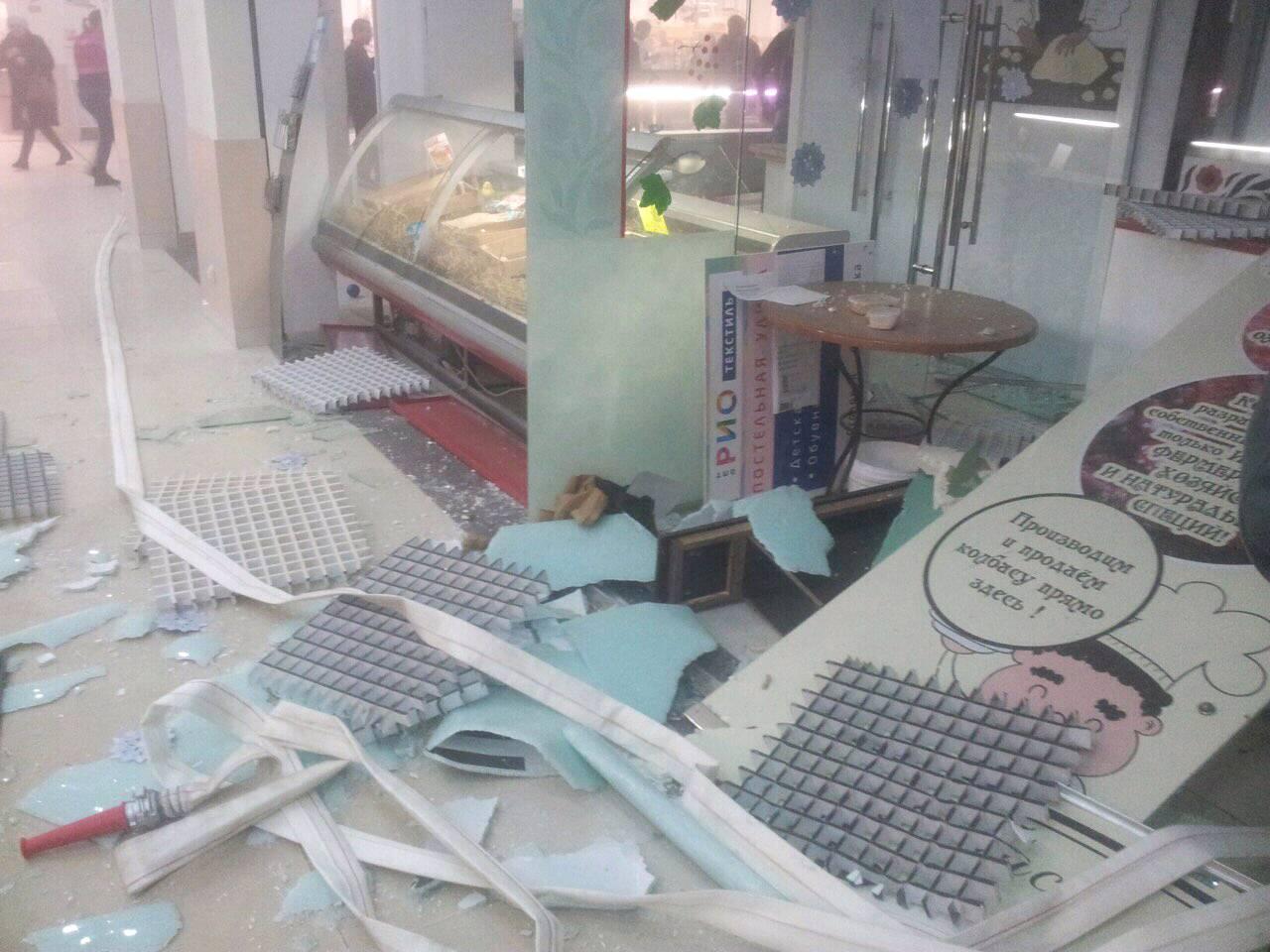 Руководство торгового центра на Тутаевском шоссе рассказало из-за чего произошел громкий хлопок