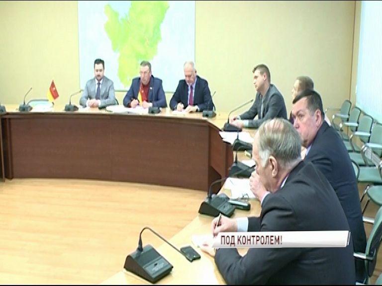 За круглым столом в правительстве области обсудили работу наблюдателей на выборах президента страны