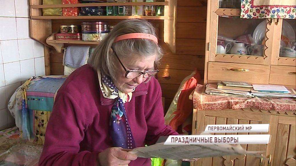 Долгожительница из деревни Гора Первомайского района вспоминает, как пришла на избирательный участок в первый раз