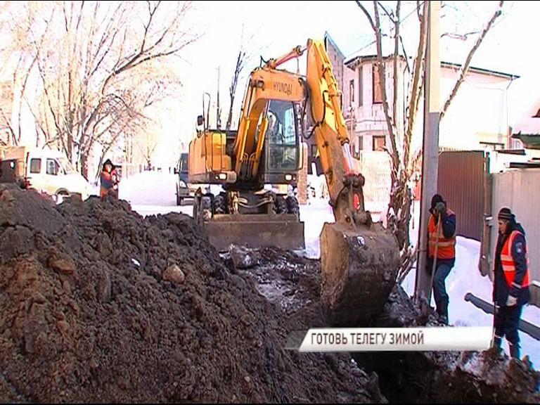 Более 200 метров сетей холодного водоснабжения заменят на улице Златоустинской в Ярославле