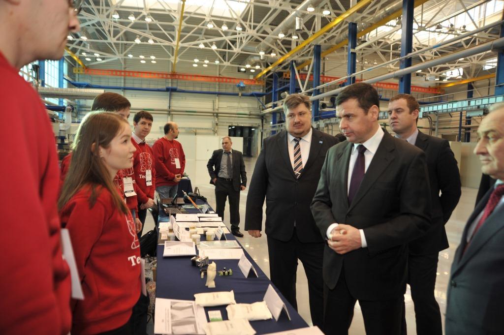Дмитрий Миронов принял участие в открытии программы поддержки инновационных разработок в Рыбинске