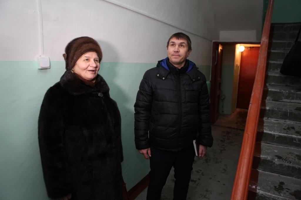 После визита Дмитрия Миронова в дом на Первомайском переулке управдом навел порядок