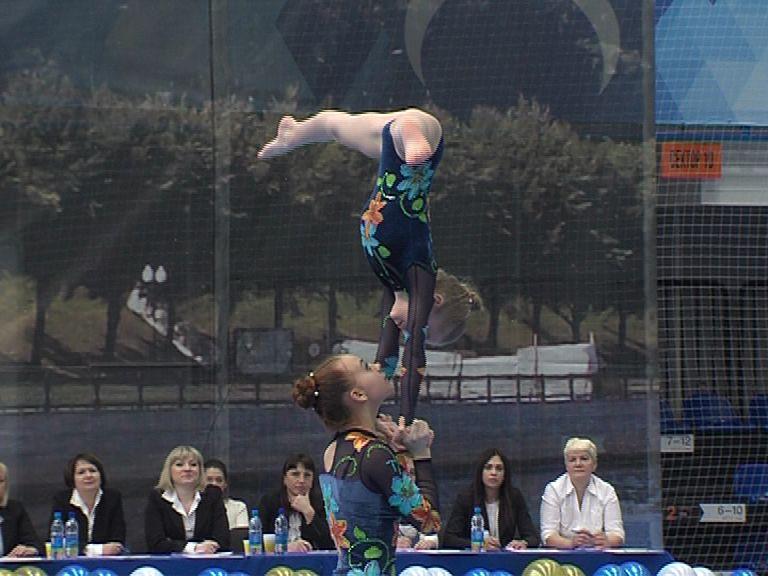 Ярославские акробатки взяли «золото» на Чемпионате России