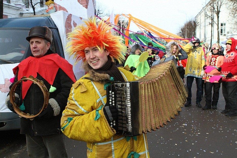«Главную Масленицу страны» в Ярославле по традиции откроет карнавальное шествие