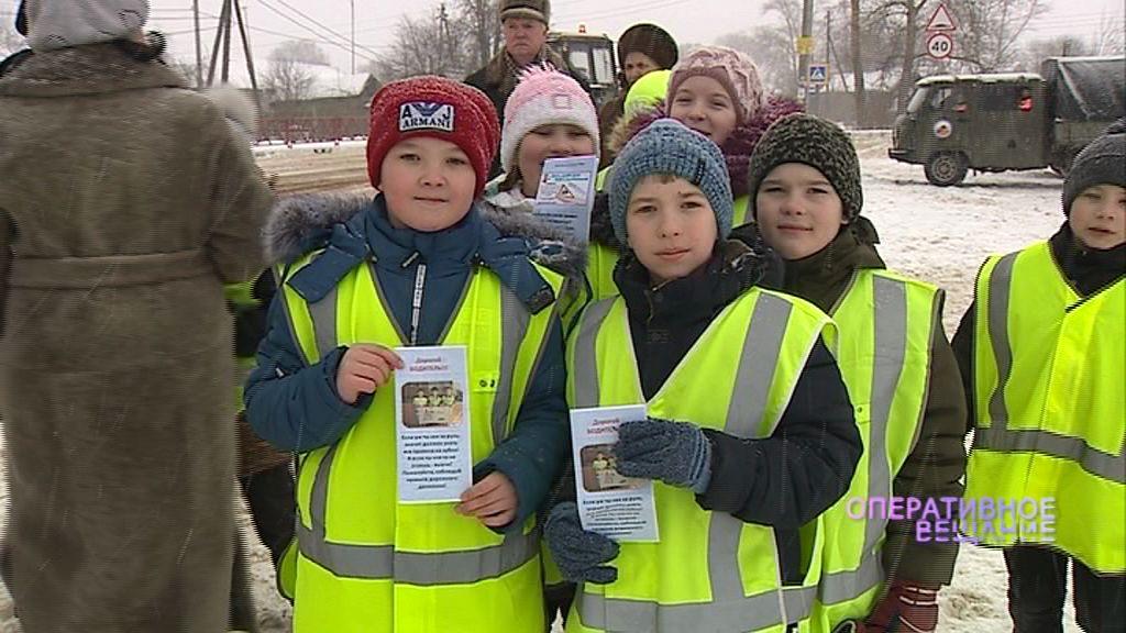 Ростовские дети дарят письма водителям
