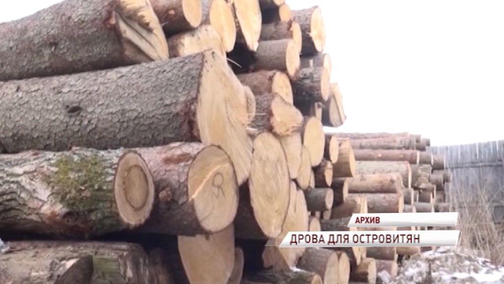 Областные власти помогли жителям Юршинского острова решить вопрос с отоплением домов