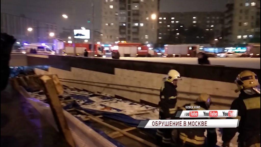 Ярославец получил травмы при обрушении строительных лесов в Москве