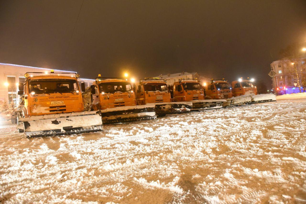МЧС: Ярославль накроет еще одна волна снега, которая будет мощнее предыдущей
