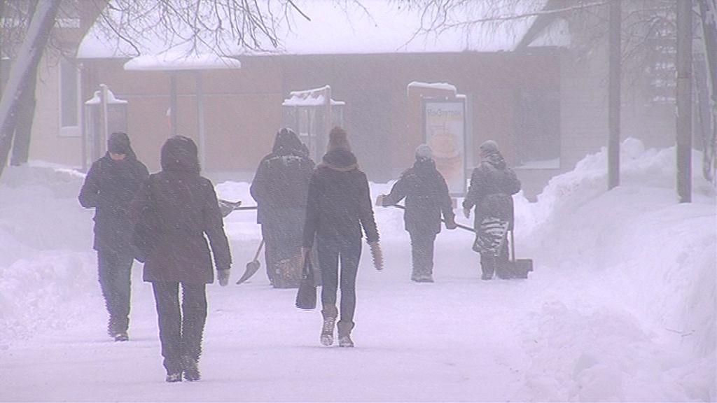Региональные спасатели: снежный циклон под контролем