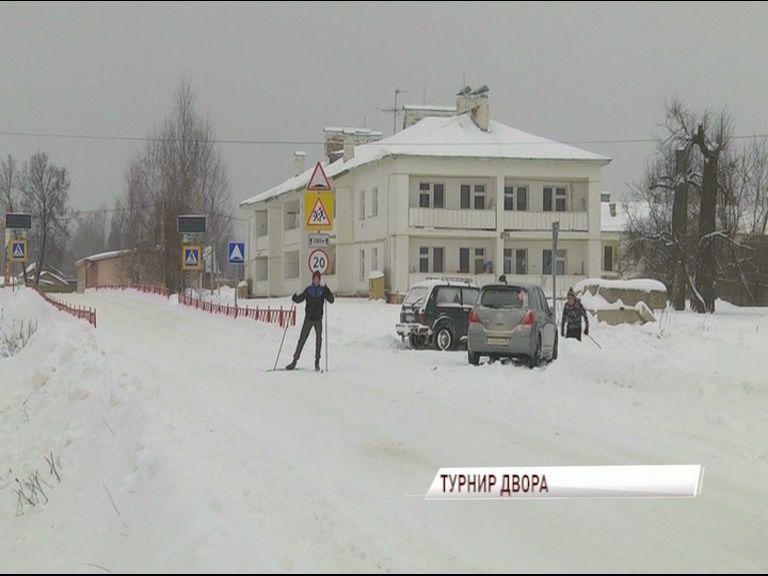 В Варегово провели турнир «День двора»