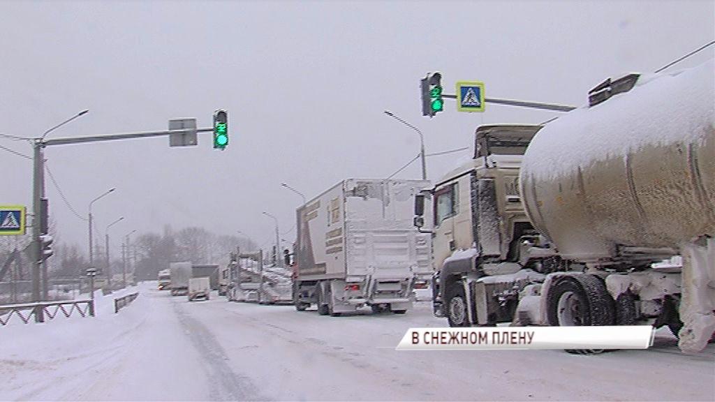 Третий день в Ярославской области мощнейший снегопад
