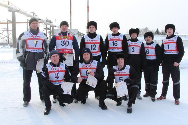 Осужденные Рыбинской колонии встали на лыжи в поддержку нашей олимпийской сборной