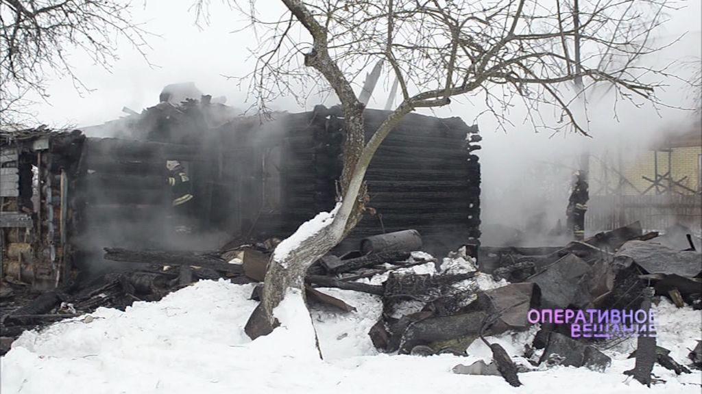 Пожар в селе Толгоболь: есть погибший