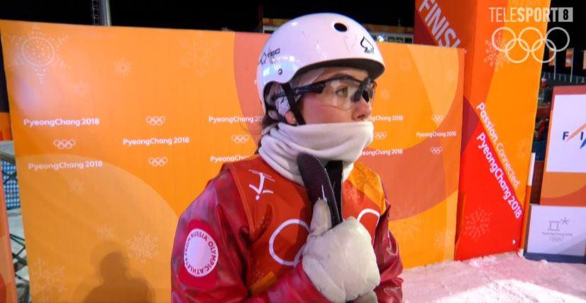 Любовь Никитина пробилась в финал соревнований среди лыжных акробатов на Олимпиаде