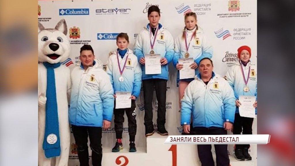 Ярославские спортсмены заняли весь пьедестал на спартакиаде спортивных школ