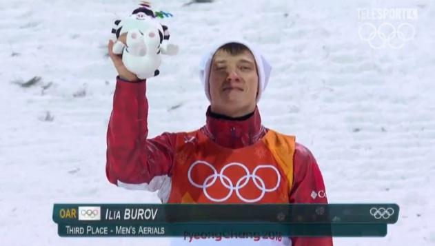 Илья Буров выиграл бронзовую медаль на Олимпиаде в Корее
