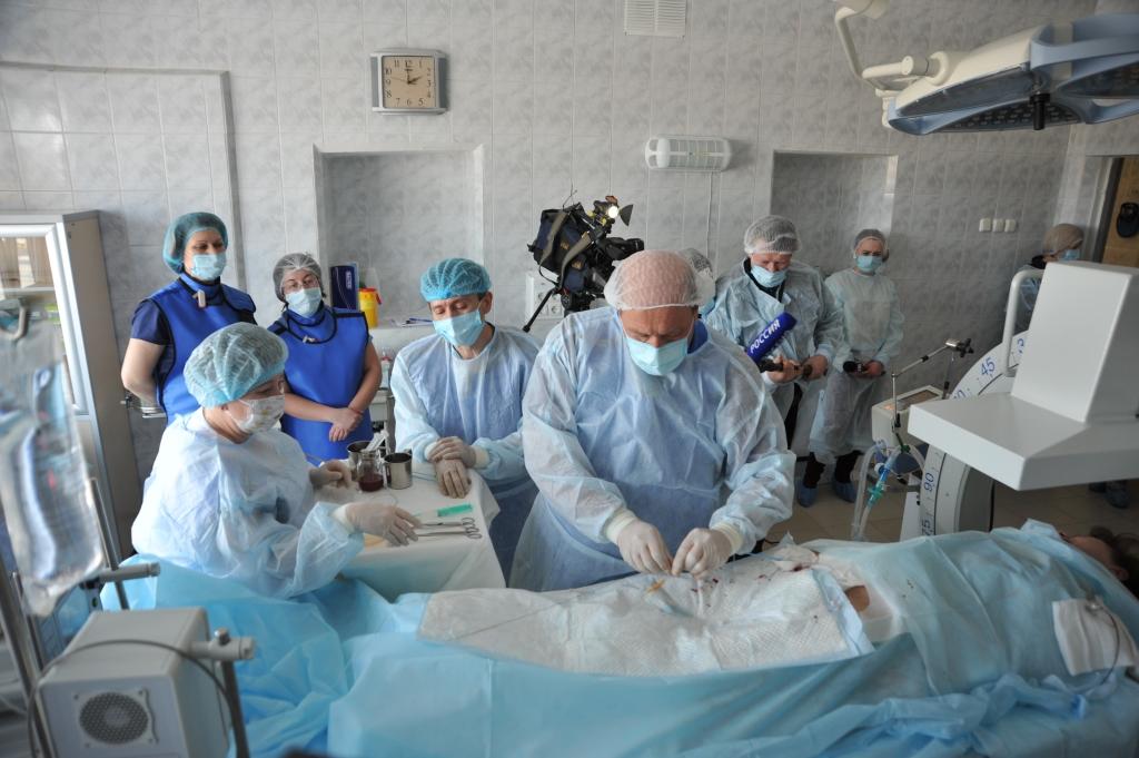Хирурги онкобольницы начали применять новую методику лечения рака желудочно-кишечного тракта