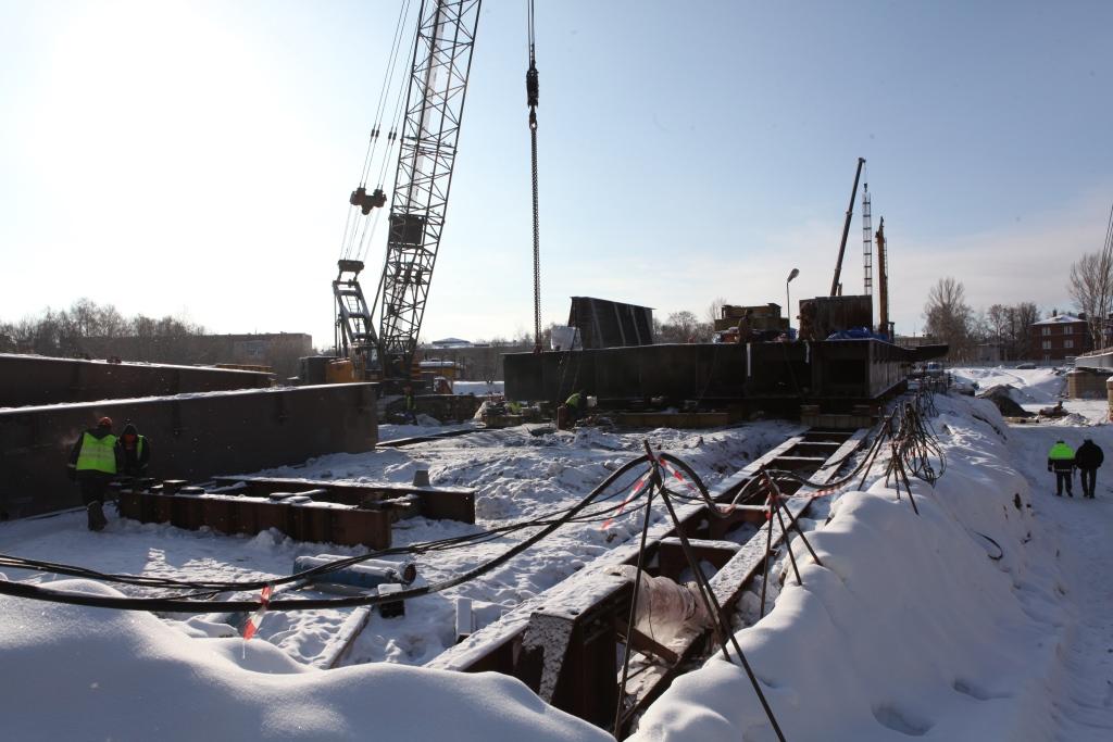 В Ярославле начался новый этап строительства моста через Которосль