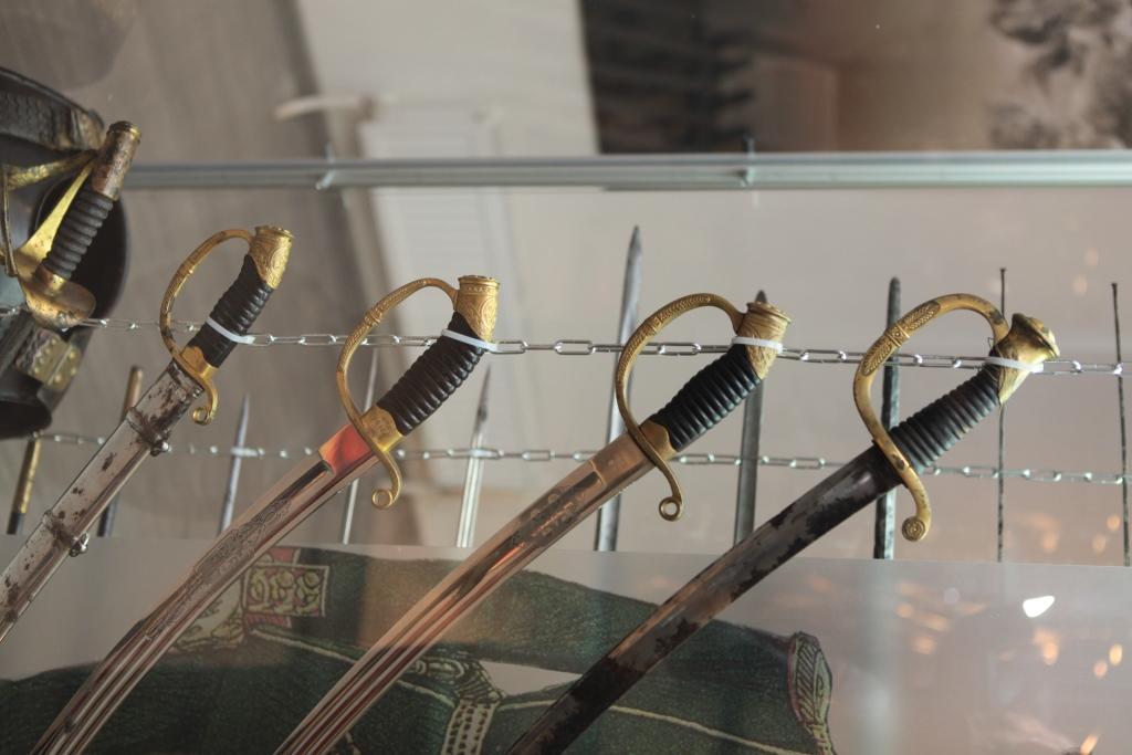В Ярославле открылась уникальная выставка оружия